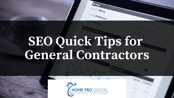 SEO Tips for Contractors