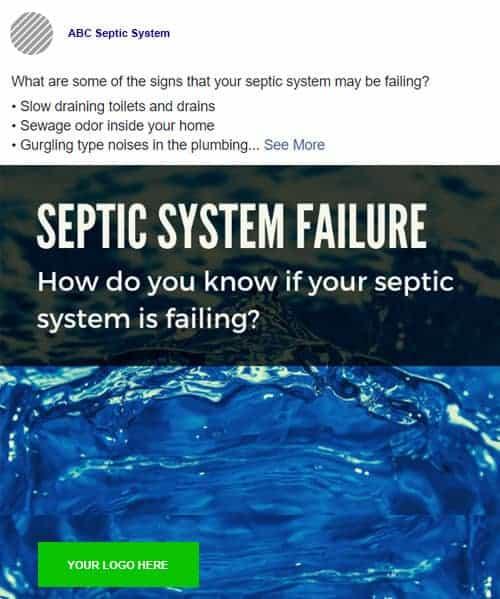 septic facebook post