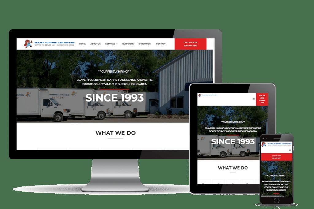 plumbing website for Beaver Plumbing & Heating