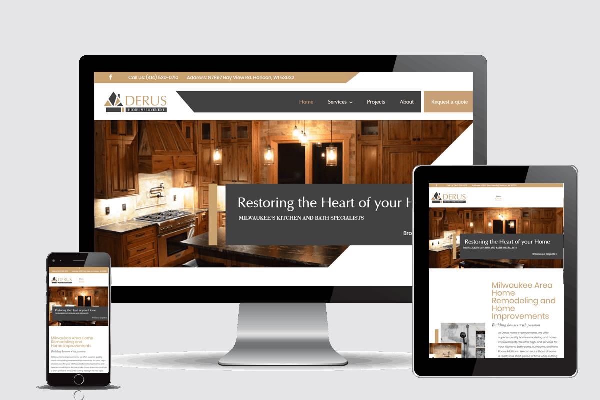 contractor website design