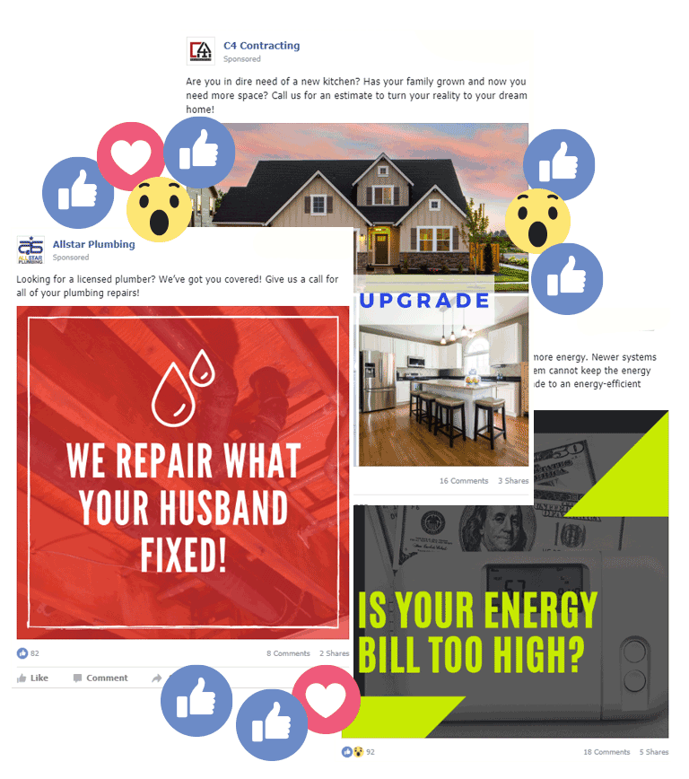 facebook posts for contractors