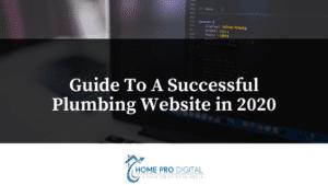 plumbing website 2020