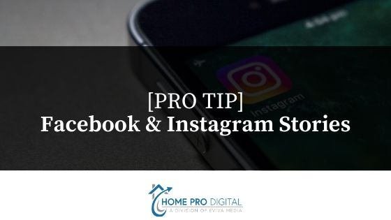digital marketing for contractors pro tip stories