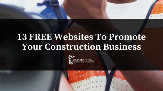 websites to promote your construction