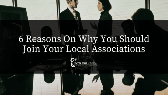 reasons to join your local associations