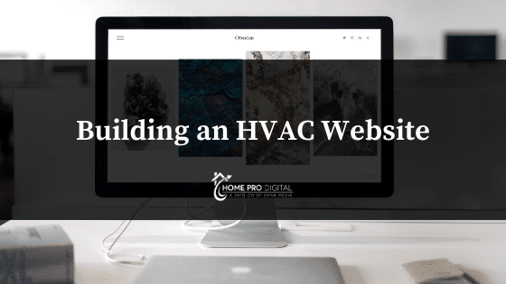 building an HVAC Website