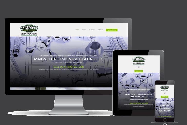 plumber marketing for Maxwell Plumbing & Heating