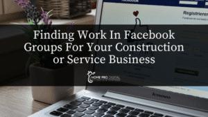 marketing hvac business on fb groups