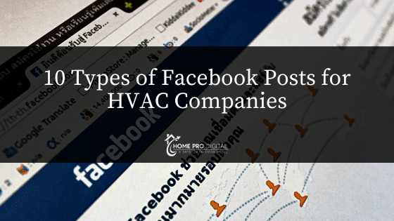 fb posts for HVAC companies