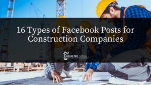 hvac social media Facebook posts for construction companies