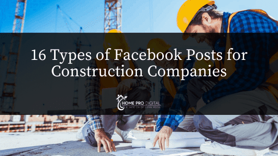 hvac social media Facebook posts for construction companies